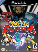 Pokémon Colosseum Game Box