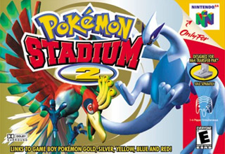 Pok�mon Stadium 2 Game Box